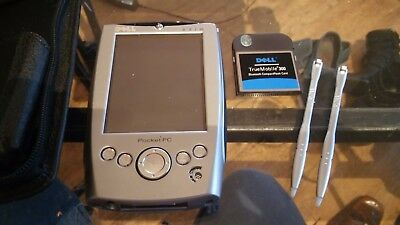 Dell Axim X5 PDA, with truemobile 300 bluetooth compact flashcard + carry case