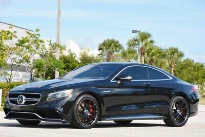 2015 Mercedes-Benz S-Class Base Coupe 2-Door 2015 S63 AMG COUPE - $175K MSRP NEW - CARBON FIBER INTERIOR - AMAZING CONDITION