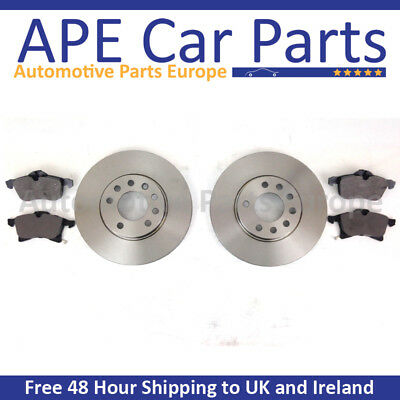 OEM SPEC FRONT DISCS AND PADS 256mm FOR TALBOT EXPRESS 2.0 1984-94