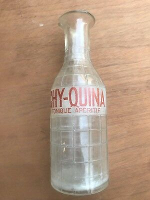 ancienne carafe publicitaire VICHY QUINA  no Absinthe