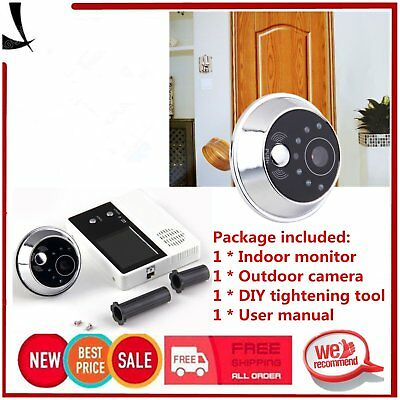 "2.4"" TFT LCD Screen Video Camera Door Phone Intercom Home Security Doorbell XKB"