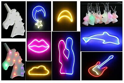 LED Lights Christmas Night Xmas Tree Unicorn String Table Decorative USB Powered