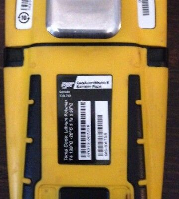 BW Technologies M5-BAT08 Rechargeable Battery Pack for GasAlertMicro 5, Yellow