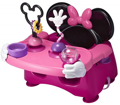 The First Years Disney Baby Helping Hands Feeding and Activity Seat, Minnie Mous