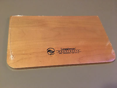 Genuine Longaberger Woodcrafts Accessory DIV-SM Rectangle Storage-WB (5062339)