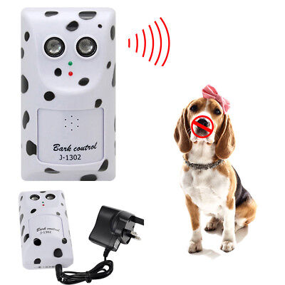 Humanely Ultrasonic Anti Bark Device Stop Control Barking Dog Silencer Hanger