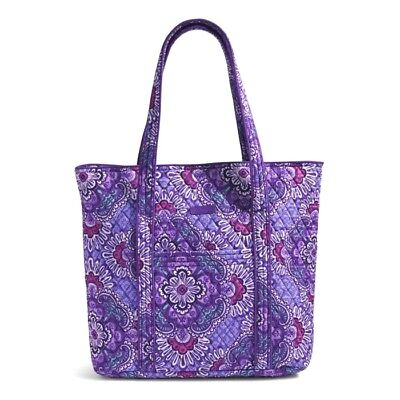"Vera Bradley~""vera"" Extra Large Tote Bag~Lilac Tapestry~15461 669~New!"