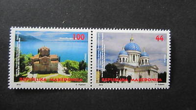 Macedonia Mazedonien 2016  MNH** Ma 747-48 Churches Joint Issue Russia