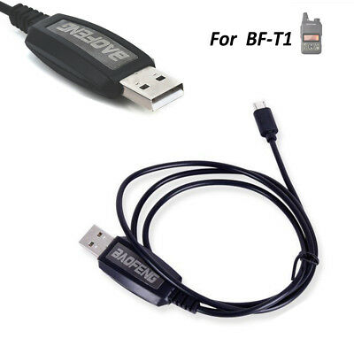 Geniune Baofeng BF-T1 Walkie talkie Radio USB programming cable With Driver CD