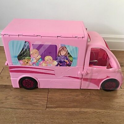 Unused Barbie Sisters Deluxe Camper Van Christmas Toys