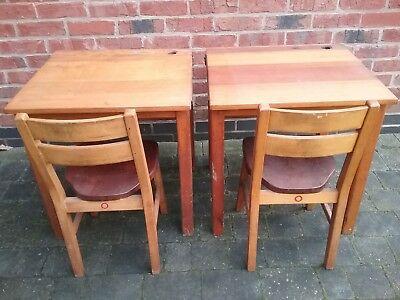Stanton by Dale School Vintage Desks & Chairs