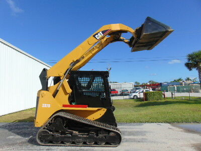 """2006 Cat 287B Turbo """"high Flow"""" Wide Track Enclosed A/c & Heat Cab"""" Hyd Coupler"""