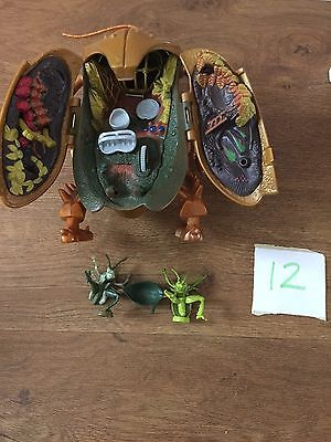 Disney Pixar - A BUGS Life Toy Compact Polly Pocket Style Very Rare With Figures