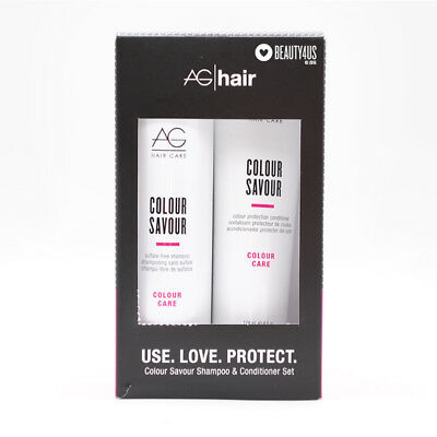 AG Colour Savour Shampoo 10 oz & Conditioner 6 oz Duo Set for Colored Hair