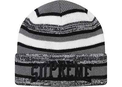 SUPREME STUDDED BEANIE Black Red box logo camp cap tnf F W 16 ... 1489be9e5851