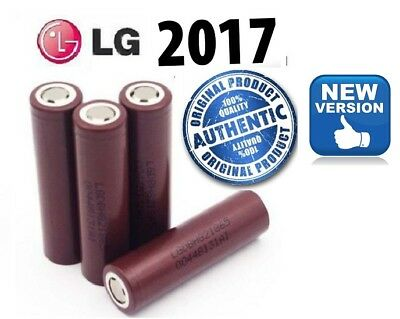 100% Genuine LG HG2 18650 3000MAh 30A IMR Rechargeable Lion Bateries High Drain