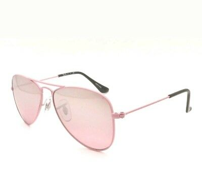 24a6703dff01dc RAY BAN KID RJ,9506 S 211 7e Pink Silver Mirror 50mm 100% Authentic ...