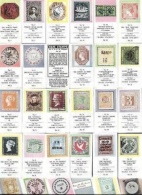 Free Post * Full Set 30 Rare Stamps Rare Stamp Excel Trade Like Cigarette Cards