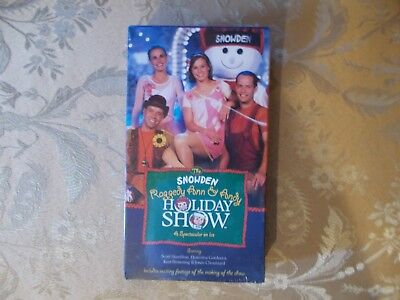 Raggedy Ann & Andy Christmas Snowden Holiday Show VHS Spectacular On Ice
