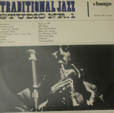 TRADITIONAL JAZZ STUDIO NR. 1 - DDR 65 - 1st PRESS - MONO - NM