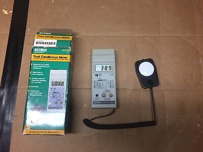 Extech Foot Candle/lux Meter Model 401025 Digital Light Meter