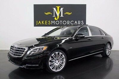 2016 Mercedes-Benz S-Class Maybach S600 (ONLY 2700 MILES!) 2016 MAYBACH S600, ONLY 2700 MILES! BLACK ON BLACK, PRISTINE 1-OWNER!