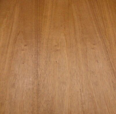 """Mahogany African wood veneer 24"""" x 24"""" on paper backer 1/40th"""" thick """"A"""" grade"""