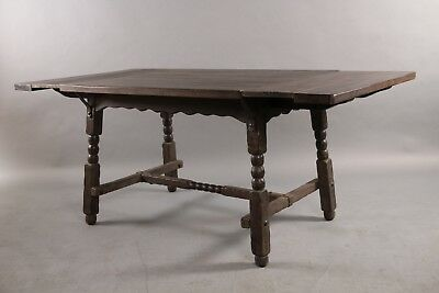 1930s Signed  Monterey  Antique Dining Room Table Vintage Rancho (10803)