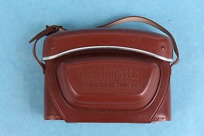 Vintage View-Master  Personal Stereo Camera Leather/plastic Carrying Case