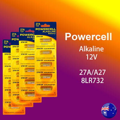 20 x 27A Powercell 12V 27A/A27 Battery Batteries Garage Car Remote Alarm