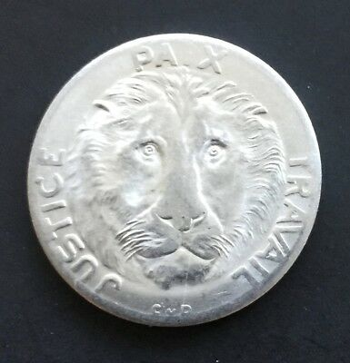 Congo 1965 10 Francs BU Lion Themed Coin Democratic Republic KM 1 Africa