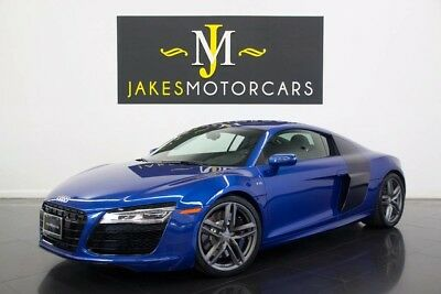 2014 Audi R8 V10 Coupe (ONLY 5K MILES!) 2014 AUDI R8 V10 Coupe~$173K MSRP!~ONLY 5K MILES! SEPANG BLUE! DIAMOND STITCHING