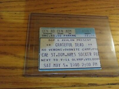 Grateful Dead, Ticket, Cal St. Dom. Hills, 05/05/1990,
