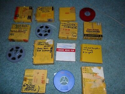 Reg 8Mm Film Home Movies Collection