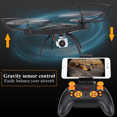 Wide Angle Lens 5MP 720P Camera Drone RC Quadcopter WiFi FPV Helicopter Hover SG