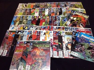 Full Swamp Thing / Rot World Epic! 80 Issues - Swamp Thing New 52 #0-40 And More