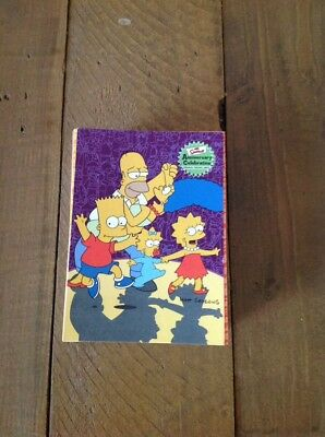 """complete set """"the simpsons anniversary celebrations"""" cards"""