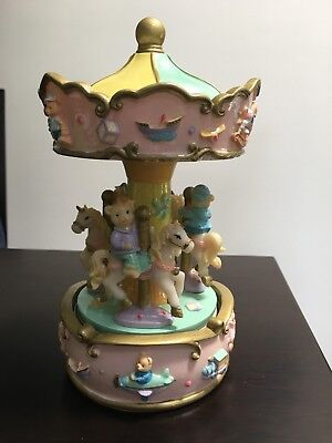 Teddy Bear Musical Carousel