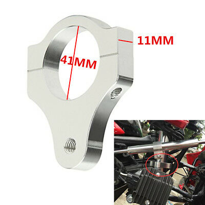 41mm Aluminum Steering Damper Fixing Clamp Bracket for Motorcycle Fork Tuning