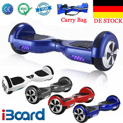 6.5 Zoll Elektro-Scooter HOVERBOARD Self Balancing Scooter Balance Board+Tasche