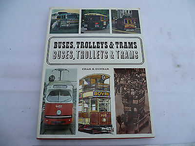 Buses Trolleys & Trams, Railway Picture Book, Hardcover