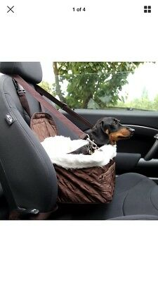 Car Carrier/Booster Seat For Small/Miniature Dog