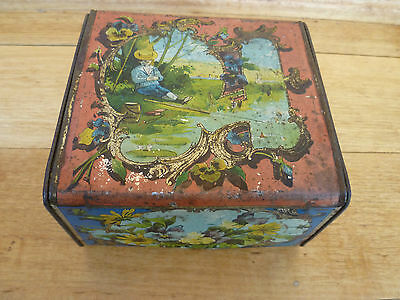 Old Early Very Nice Kids Lunch Box, Old Lunch Tin