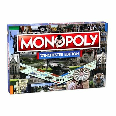 Winchester Edition Monopoly Property Trading Family Board Game