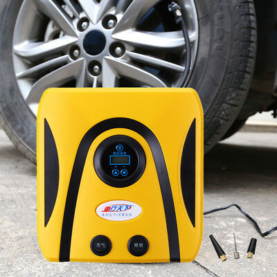 DC 12V 300PSI Portable Digital Car Tyre Inflator Pump Air Compressor LCD Display