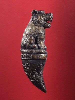 thai buddha amulet Statue TIGER LP Tim The maestro Fetish Holy POWERFUL magical