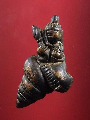 buddha amulet KHMER Statue old UPAKOOT Fetish Holy POWERFUL Magic Charm antique