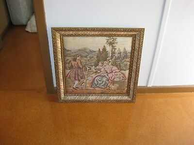 Old Tapestry Type Art Work