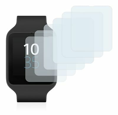Sony Smartwatch 3 SWR50 ,  6x Transparent ULTRA Clear Screen Protector