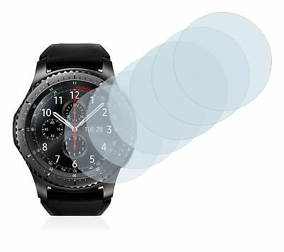 Samsung Gear S3  Smart Watch,  6x Transparent ULTRA Clear Screen Protector